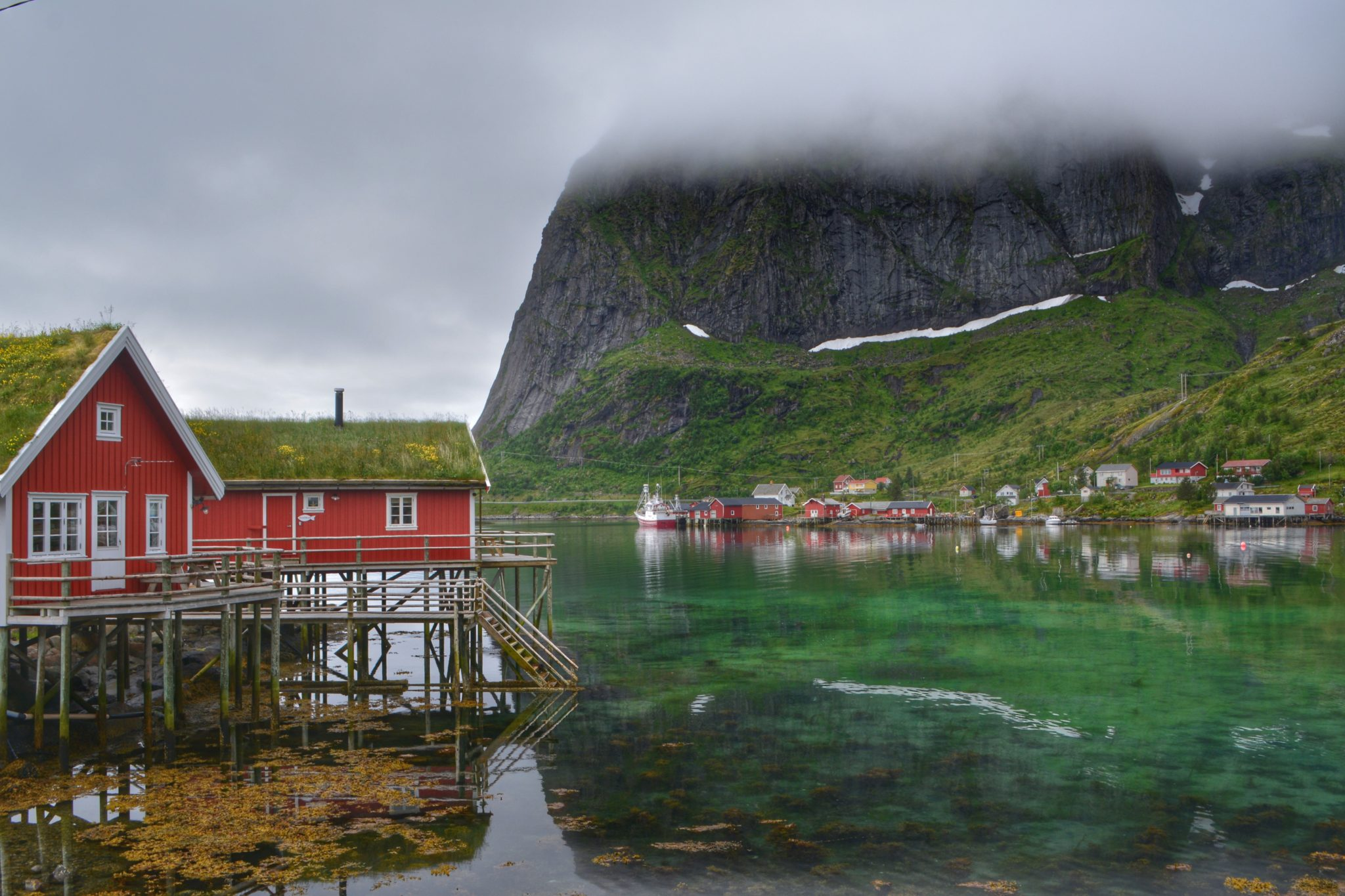 Lofoten Island Fishing Houses